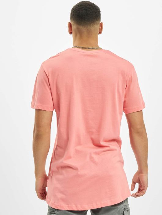 Urban Classics T-skjorter Shaped Long lyserosa