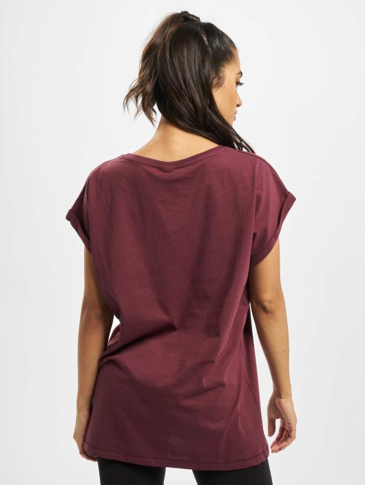Urban Classics T-skjorter Extended Shoulder red
