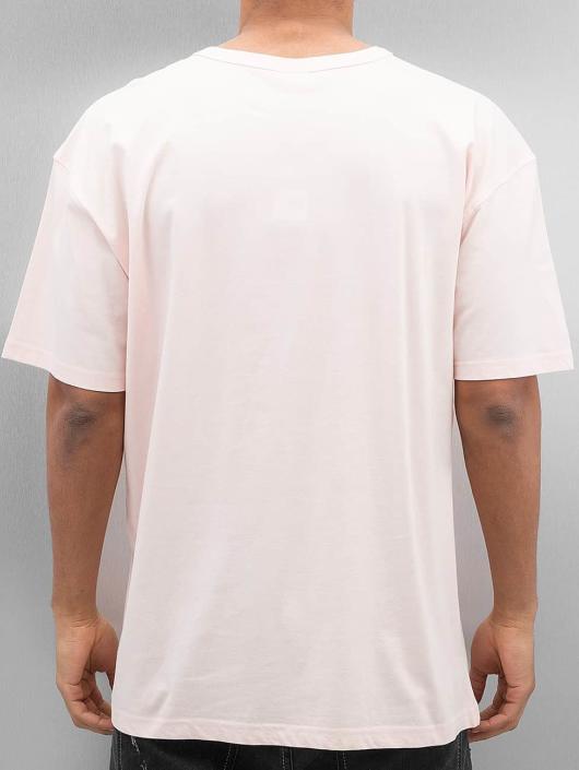Urban Classics T-skjorter Oversized rosa