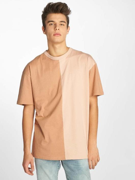Urban Classics T-skjorter Harlequin Oversize rosa