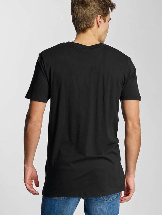 Urban Classics T-skjorter Basic V-Neck svart