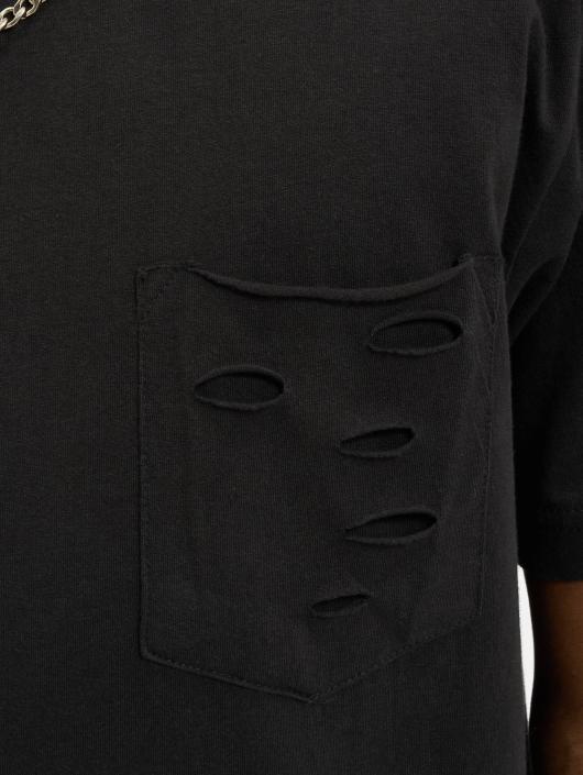 Urban Classics T-skjorter Ripped svart