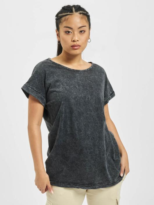 Urban Classics T-skjorter Random Wash Extended svart