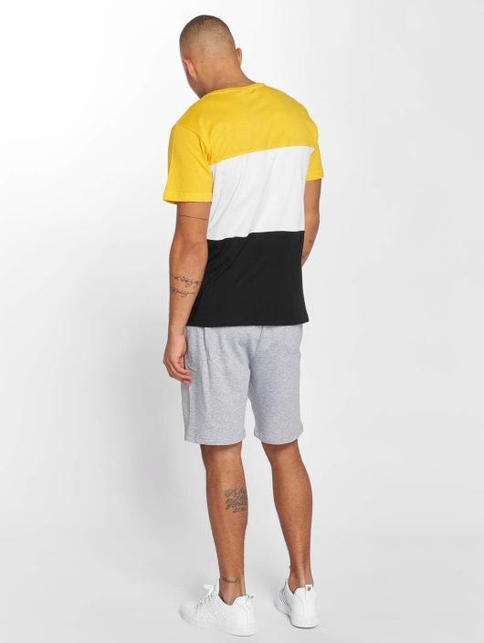 Urban Classics T-skjorter Color Block svart