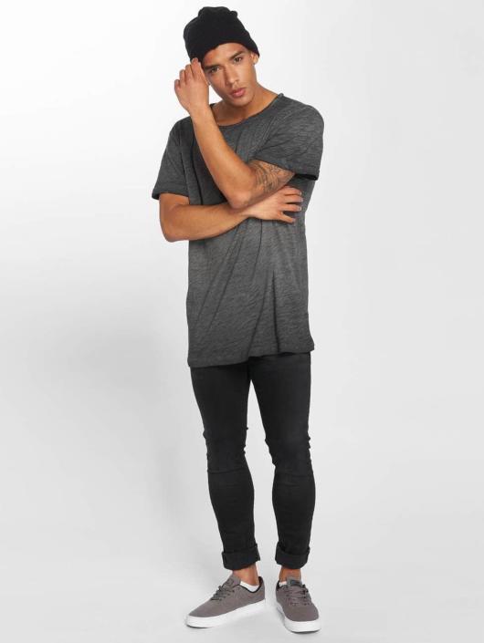 Urban Classics T-skjorter Cold Dye svart