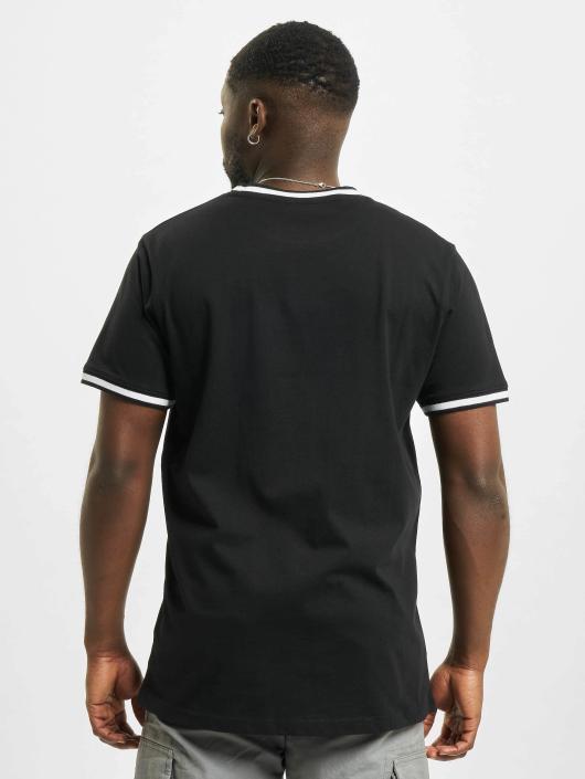 Urban Classics T-skjorter College svart