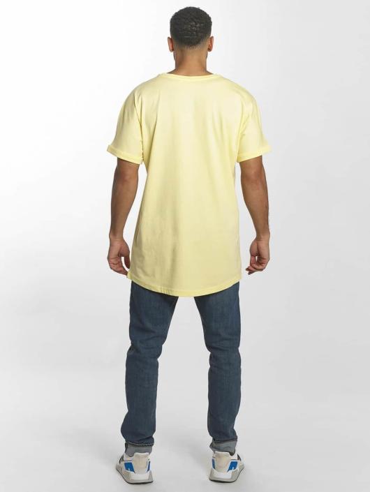 Urban Classics Tall Tees Long Shaped Turnup žltá