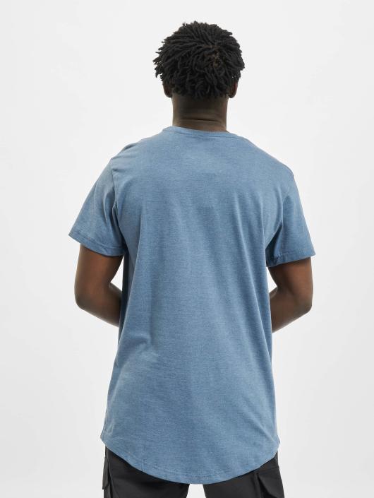 Urban Classics Tall Tees Shaped Melange Oversized Long azul