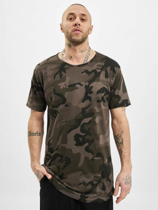 Urban Classics Tall Tees Camo Shaped Long camouflage