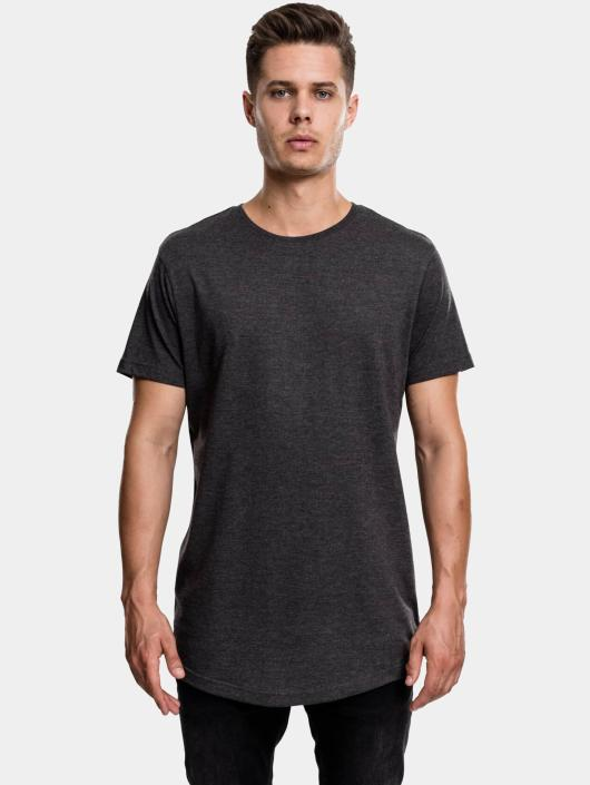 Urban Classics Tall Tees Shaped Melange Oversized Long grigio