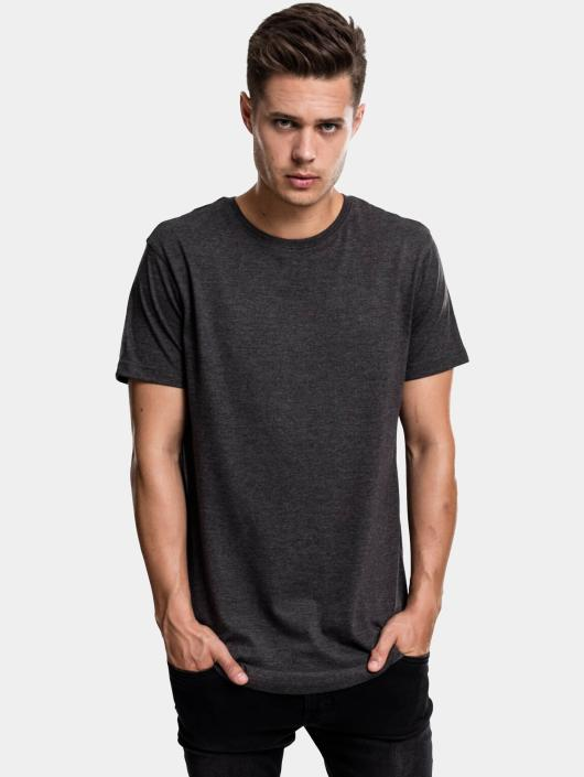 Urban Classics Tall Tees Shaped Melange Oversized Long gris
