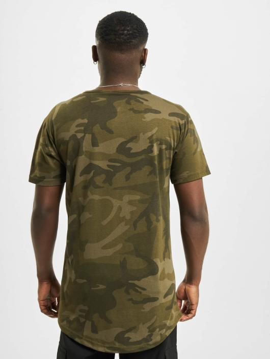 Urban Classics Tall Tees Camo Shaped Long moro
