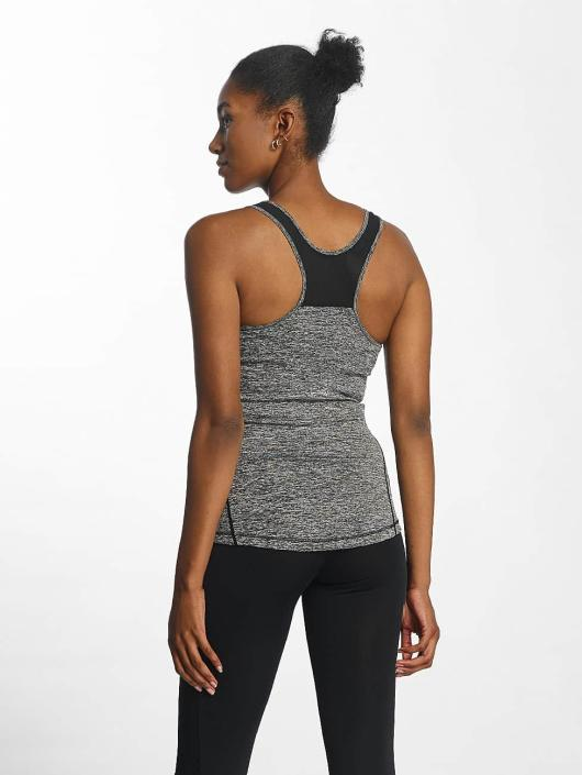 Urban Classics Tank Tops Active Melange Trainings grau