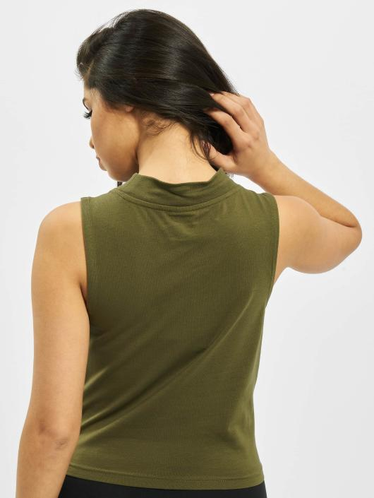 Urban Classics Tank Tops Ladies Turtleneck olive