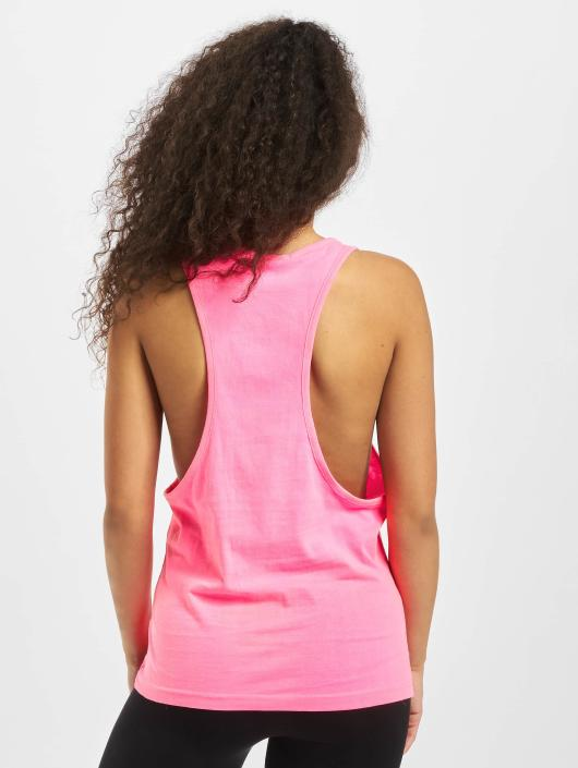 Urban Classics Tank Tops Ladies Loose pink