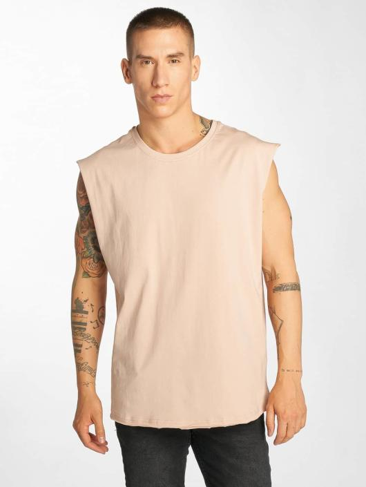 Urban Classics Tank Tops Open Edge rose