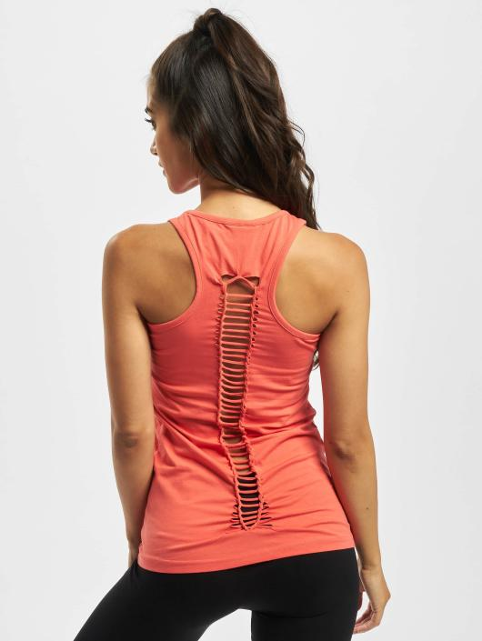Urban Classics Tank Tops Cutted Back rot