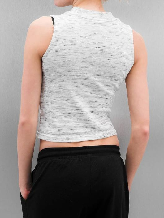 Urban Classics Tank Tops Ladies Space Dye white