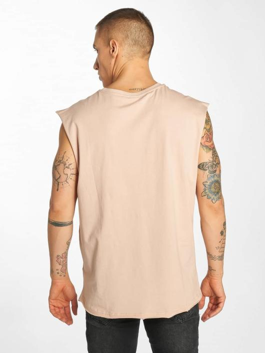 Urban Classics Tanktop Open Edge rose