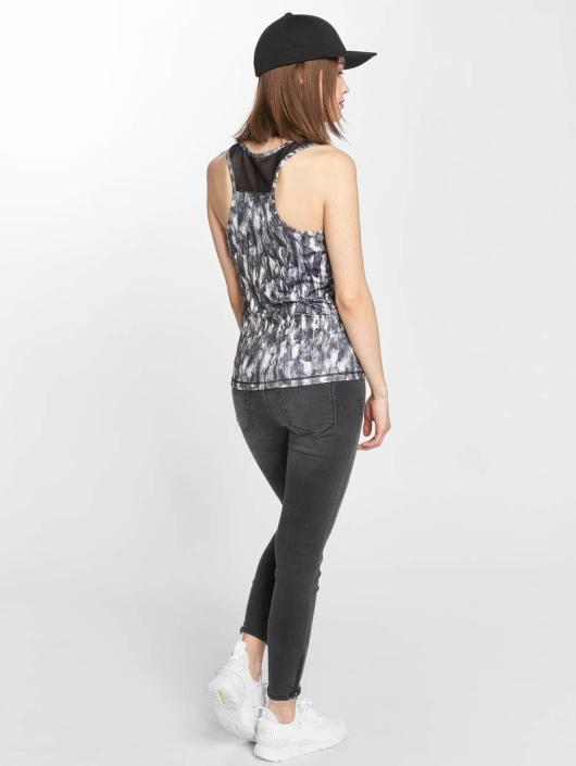 Urban Classics Top Active Graphic grau