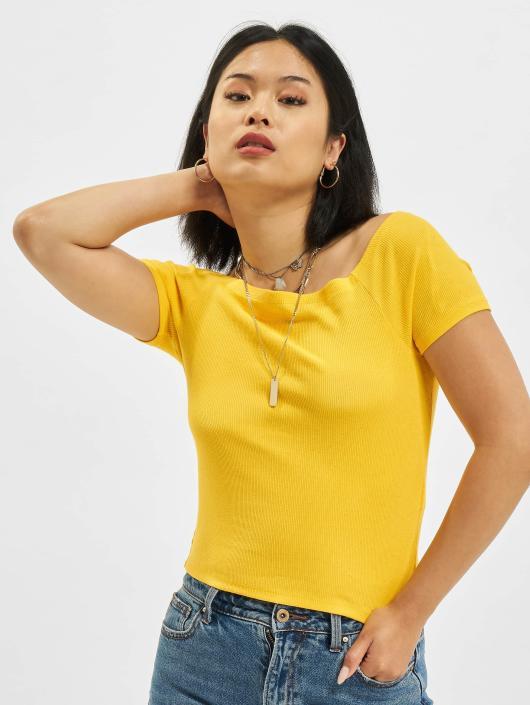 Urban Classics Top Rebecca yellow