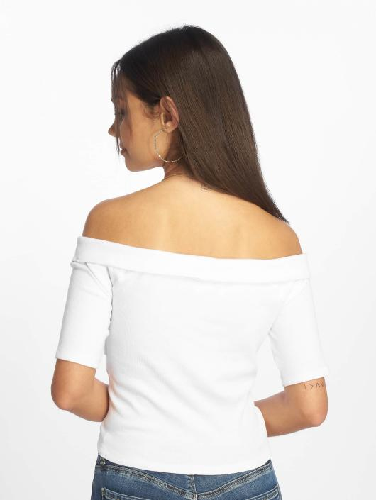 Urban Classics Topper Off Shoulder hvit