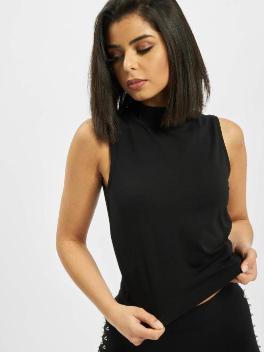 Urban Classics Tops Ladies Turtleneck czarny