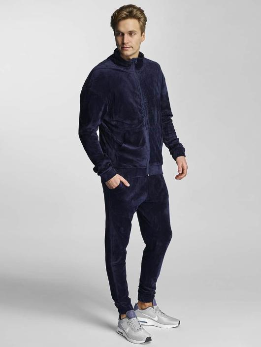 Urban Classics Transitional Jackets Velvet blå