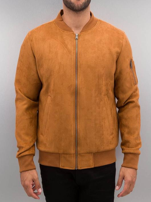 Urban Classics Transitional Jackets Imitation Suede brun