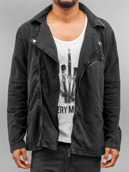 Urban Classics Transitional Jackets Acid Wash Terry grå