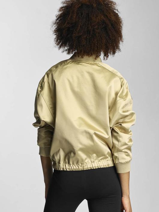 Urban Classics Transitional Jackets Ladies Satin Kimono gull