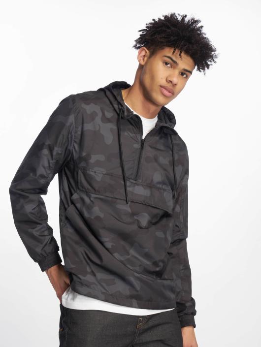 Urban Classics Transitional Jackets Camo Pull Over kamuflasje