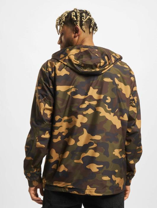 Urban Classics Transitional Jackets Camo Pull Over kamuflasje