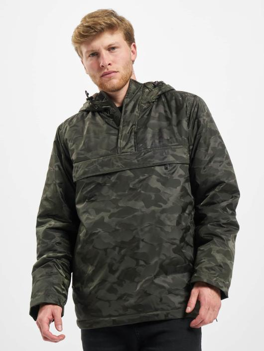 Urban Classics Transitional Jackets Padded Camo Pull Over kamuflasje