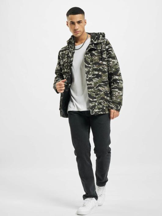 Urban Classics Transitional Jackets Tiger Camo oliven