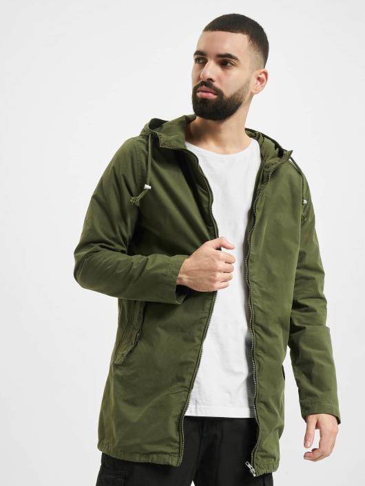 Urban Classics Transitional Jackets Light Cotton oliven