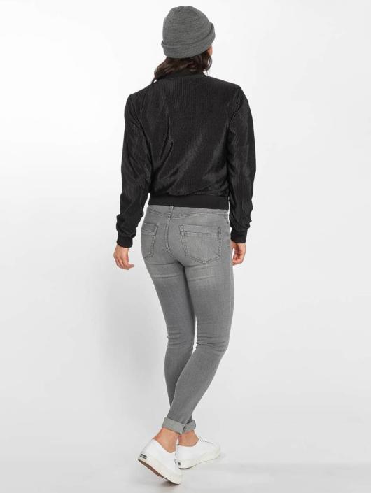 Urban Classics Transitional Jackets Pleated Blouson svart