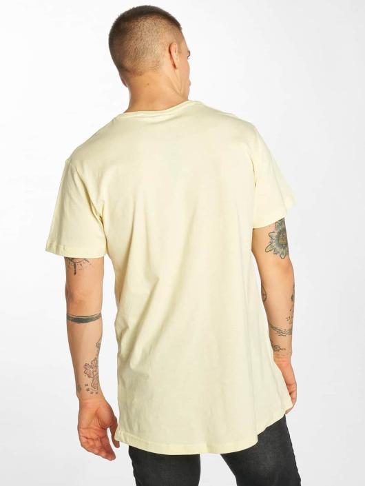 Urban Classics Tričká Shaped Long žltá