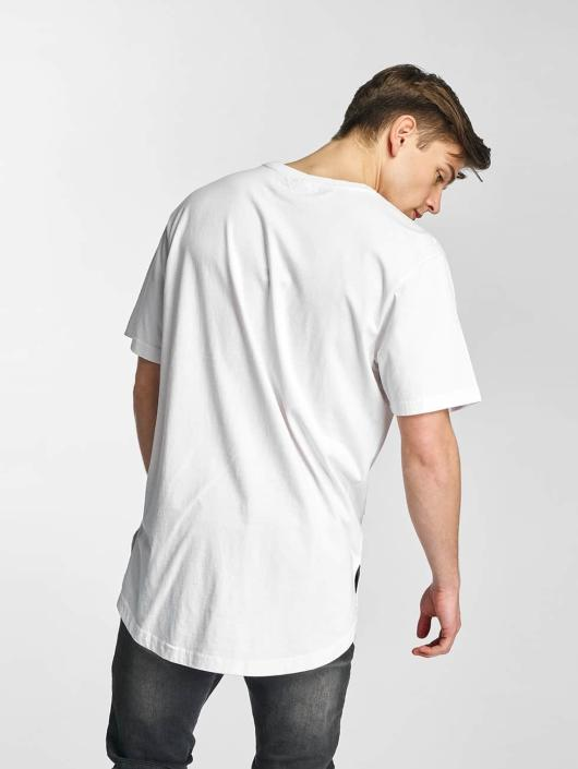 Urban Classics Tričká Ripped biela