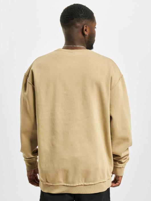 Urban Classics trui Oversized Open Edge beige