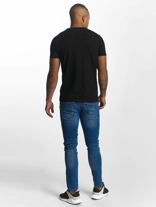 Urban Classics Tynne bukser Ripped blå