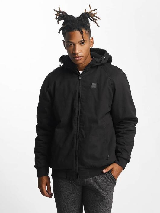 Urban Classics Übergangsjacke Hooded Zip schwarz