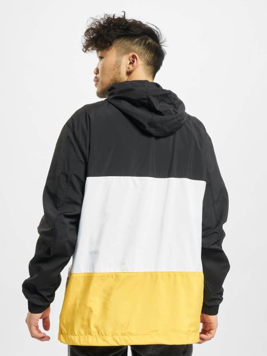 Urban Classics Übergangsjacke Color Block schwarz