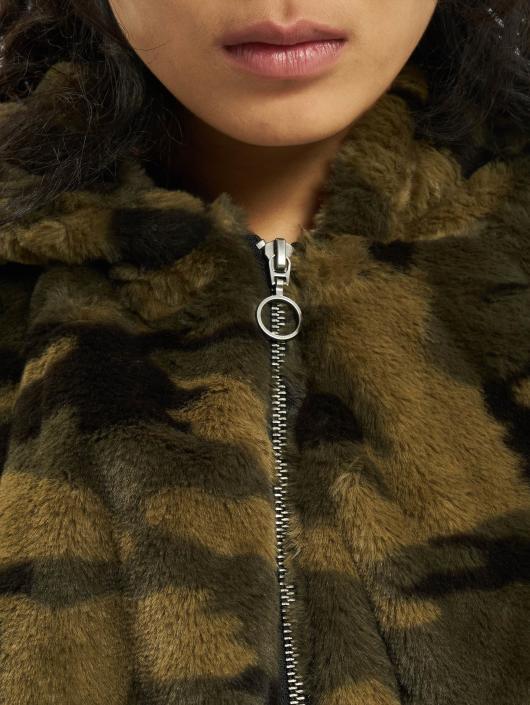 Urban Classics Veste mi-saison légère Camo Teddy camouflage