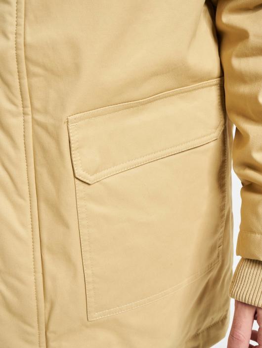 Urban Classics Vinterjakke Heavy Cotton beige