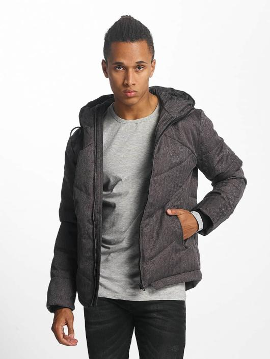 Urban Classics Winter Jacket Heringbone gray