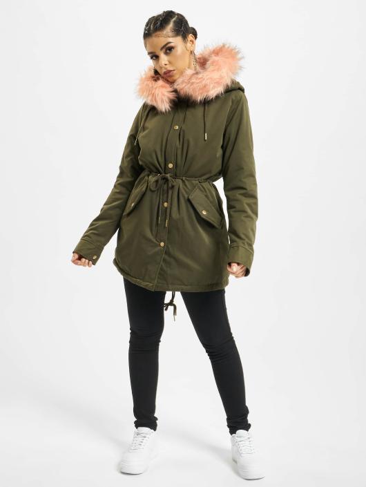 Urban Classics Winter Jacket Peached olive