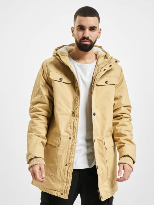 Urban Classics Winterjacke Heavy Cotton beige