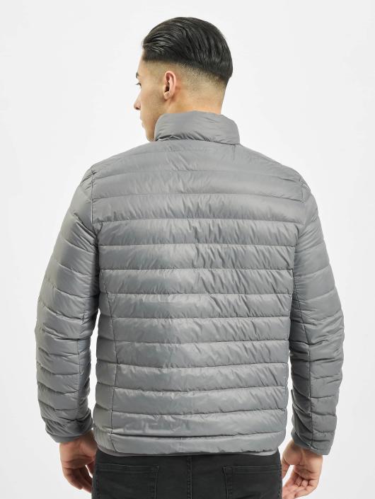 Urban Classics winterjas Basic Down grijs
