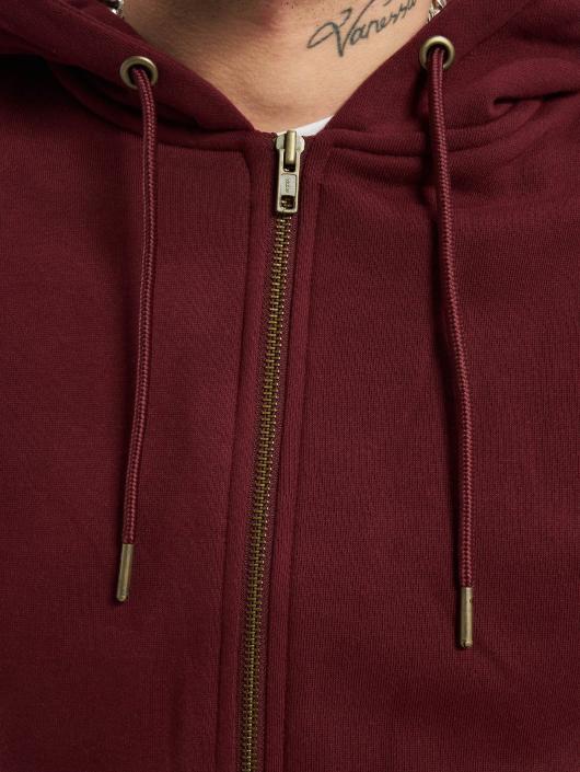Urban Classics Zip Hoodie Basic èervená